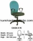 Kursi Staff & Sekretaris Indachi Casa II N