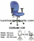 Kursi Staff & Sekretaris Indachi Corum I CR