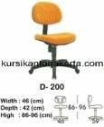 Kursi Staff & Sekretaris Indachi D 200