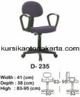 Kursi Staff & Sekretaris Indachi D 235